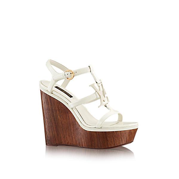 4cc18be13e2a Louis Vuitton Paradiso Sandal In Ecru