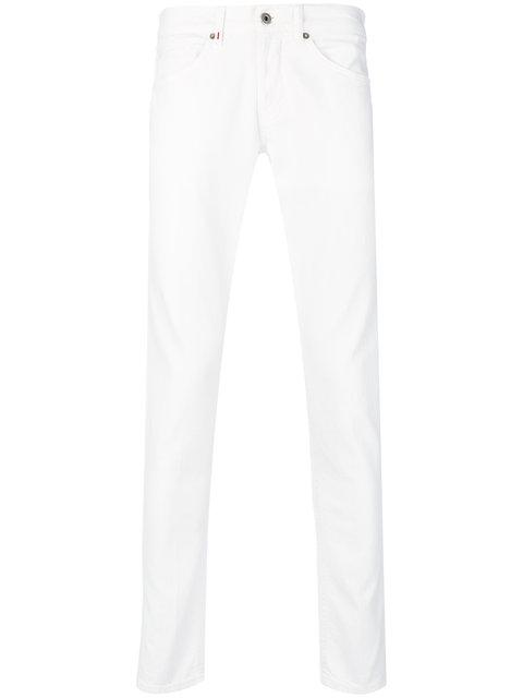 Dondup Slim-Fit Jeans In White