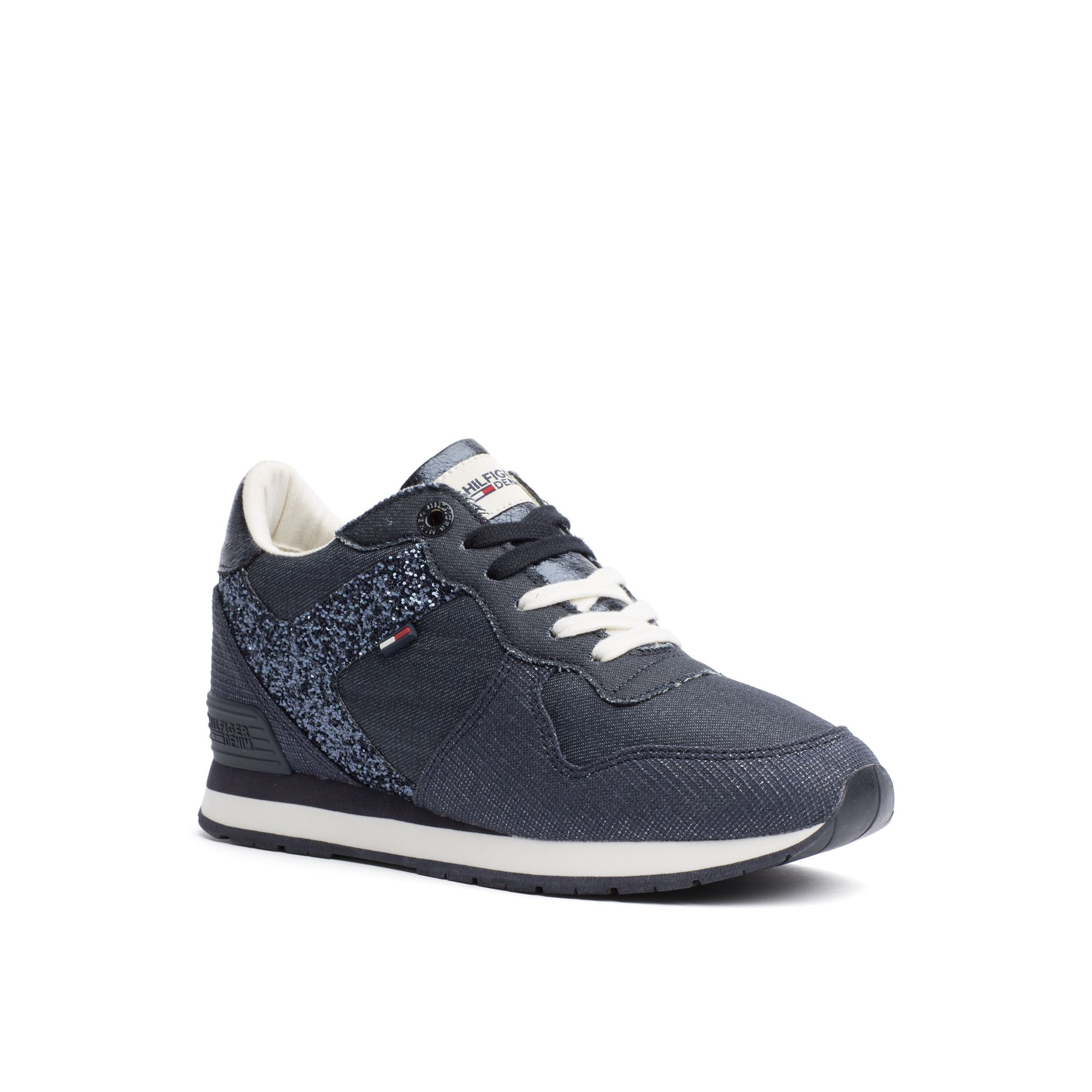 Olydnad förorening royalty  Tommy Hilfiger Final Sale-hilfiger Denim Sparkle Sneaker ...