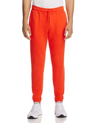 Wesc Baker Cotton Jogger Pants In Red