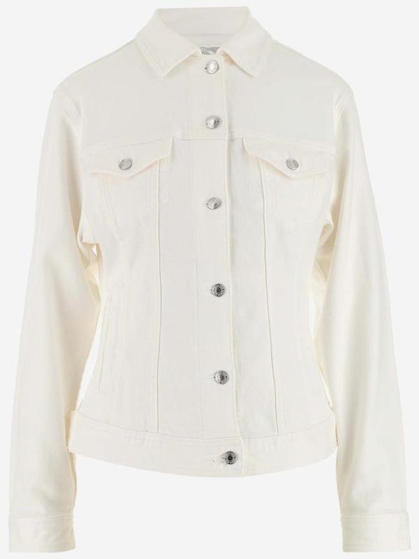 Michael Michael Kors Jackets In Bianco