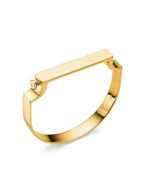 Monica Vinader Gold Vermeil Signature Petite Bangle