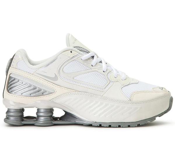 Nike Shox Enigma Phantom Sneakers In White