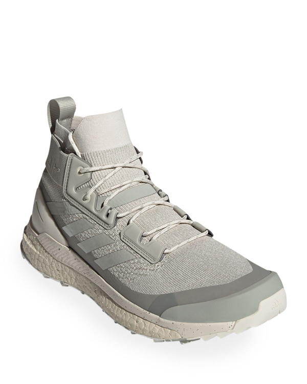 Adidas X Parley Men's Terrex Free Hiker Mid-top Sneakers In Gray