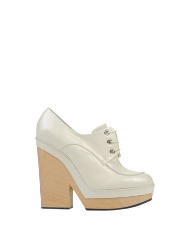 Jil Sander Lace-Up Shoes In Ivory