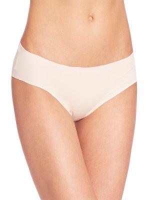 Hanro Invisible Cotton Hi-Cut Brief In Powder1381