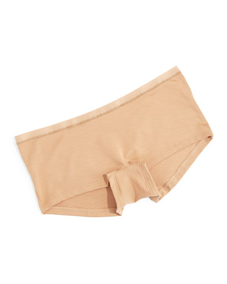 Hanro Soft Touch Boyleg Briefs In Nude
