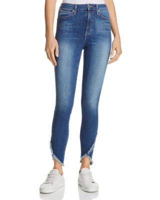 Joe's Jeans The Charlie High-rise Tulip Hem Jeans In Michela - 100% Exclusive