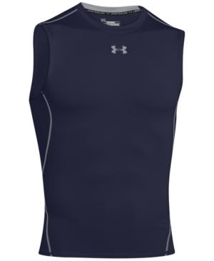 Under Armour Men's Performance Compression Tank In Midnight
