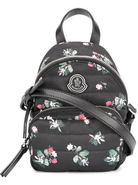 Moncler Floral Georgine Bag In Black