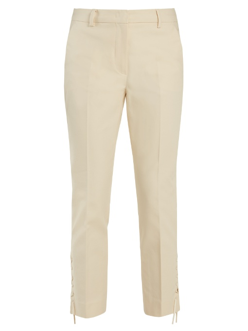 Sportmax Teano Trousers In Ivory