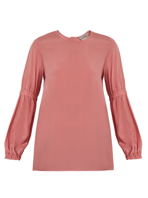 Sportmax Nilo Blouse In Pink