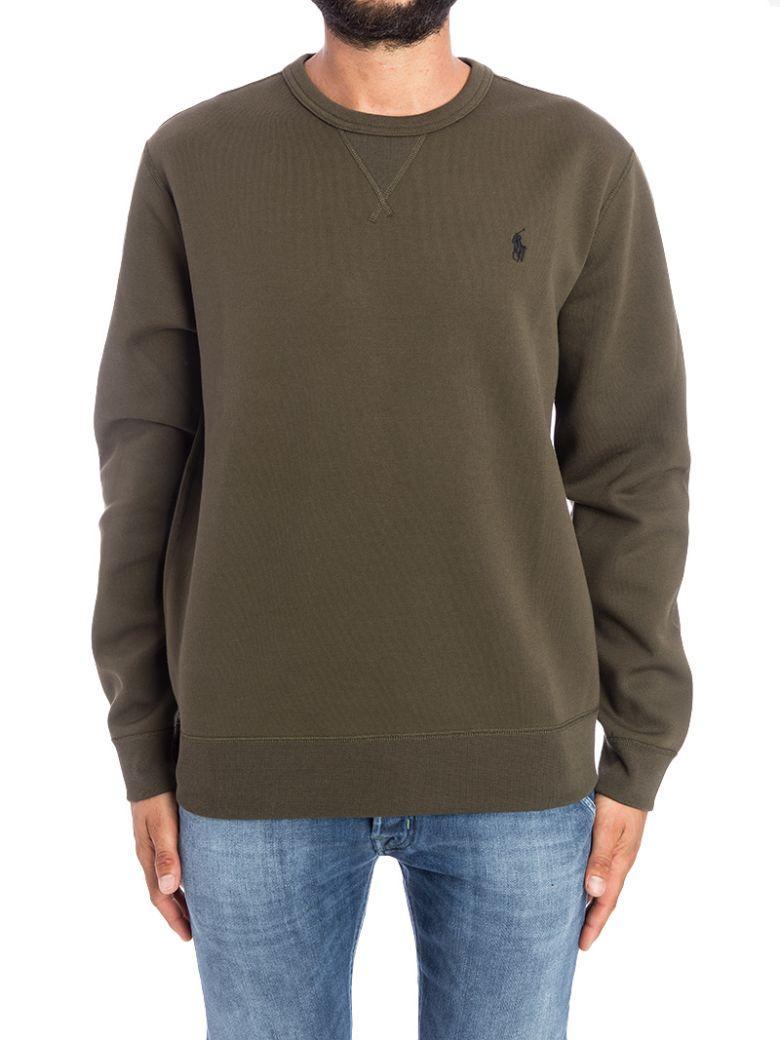 Ralph Lauren Sweatshirt In Military Green