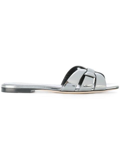 Saint Laurent Nu Pieds Strappy Sandals