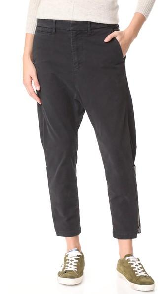 Nili Lotan Jackson Pants In Jet Black