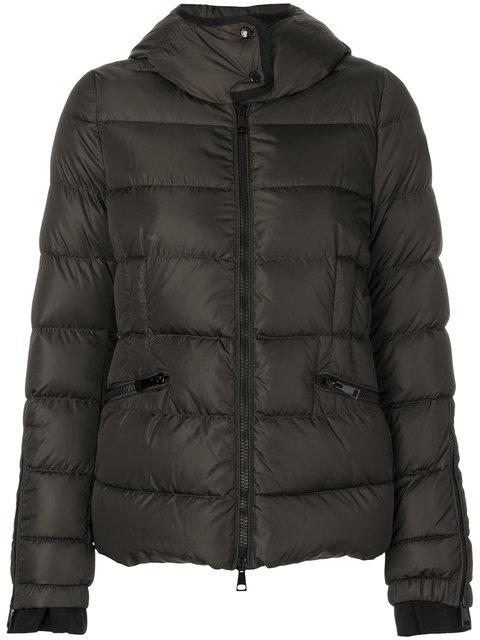 Moncler Betula Padded Jacket In Green