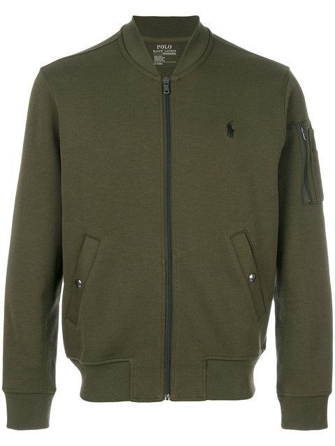Polo Ralph Lauren Zipped Sweater - Green