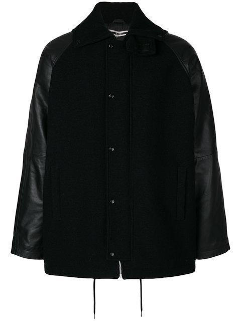Mcq By Alexander Mcqueen Mcq Engineered Coat In Black
