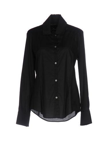 Vivienne Westwood Anglomania Solid Color Shirts & Blouses In Black