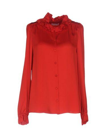 Sonia Rykiel Solid Color Shirts & Blouses In Red