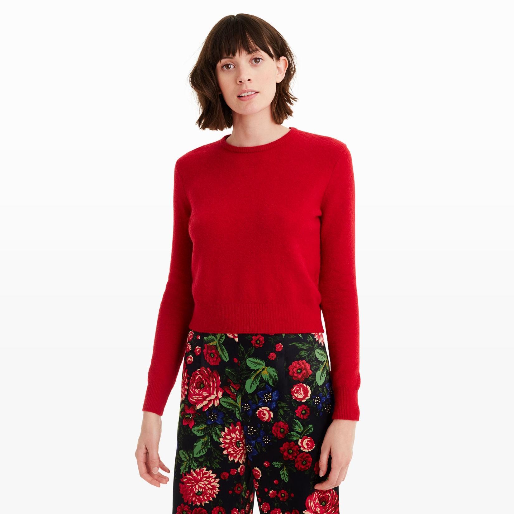 Club Monaco Sychar Sweater In Gypsy Red