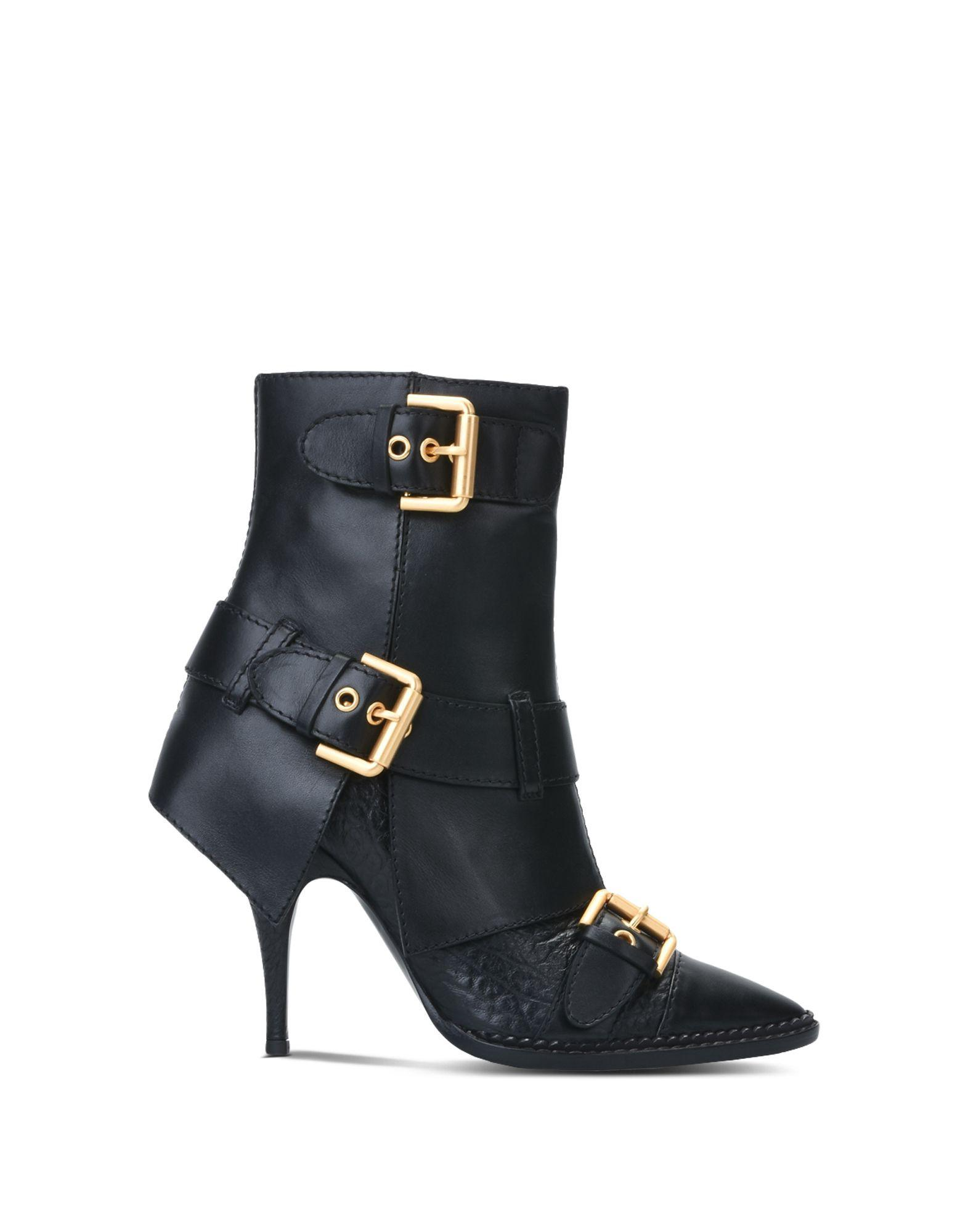 Moschino Boots In Black