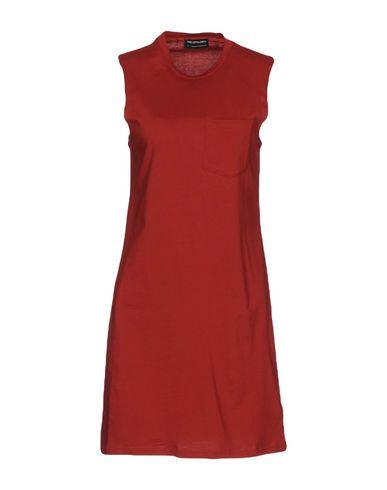 The Fifth Label Short Dress In Brick Red