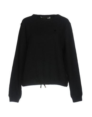 Love Moschino Sweatshirt In Dark Blue