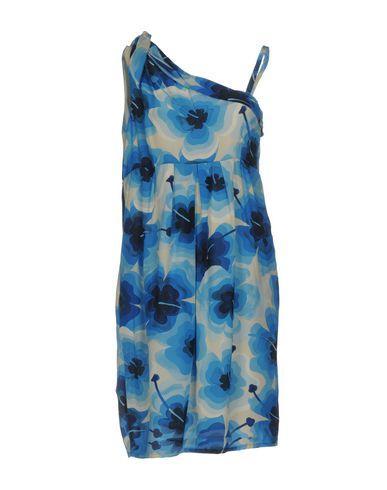 Love Moschino Short Dress In Azure
