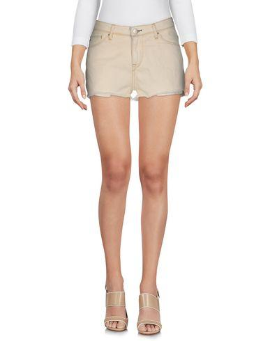 Iro Denim Shorts In Beige