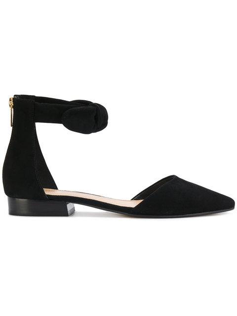 Michael Michael Kors Pointed Ballerina Shoes - Black