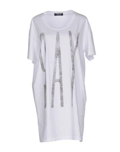 Zucca Short Dress In White