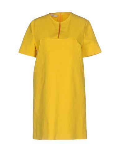 Cedric Charlier Short Dresses In Yellow