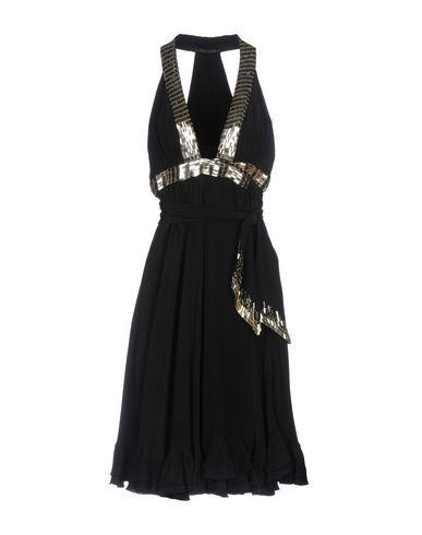 Roberto Cavalli Short Dress In Black