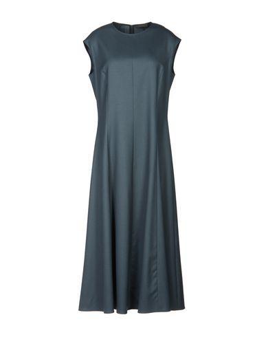The Row 3/4 Length Dress In Lead