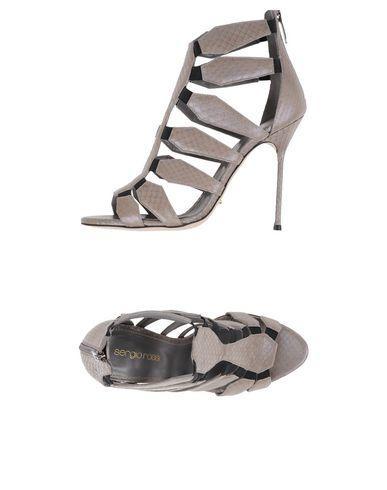 Sergio Rossi Sandals In Grey