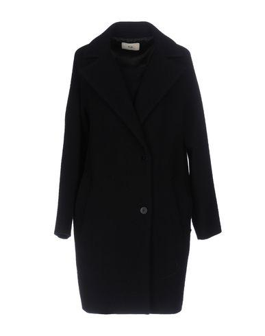 Folk Coat In Dark Blue