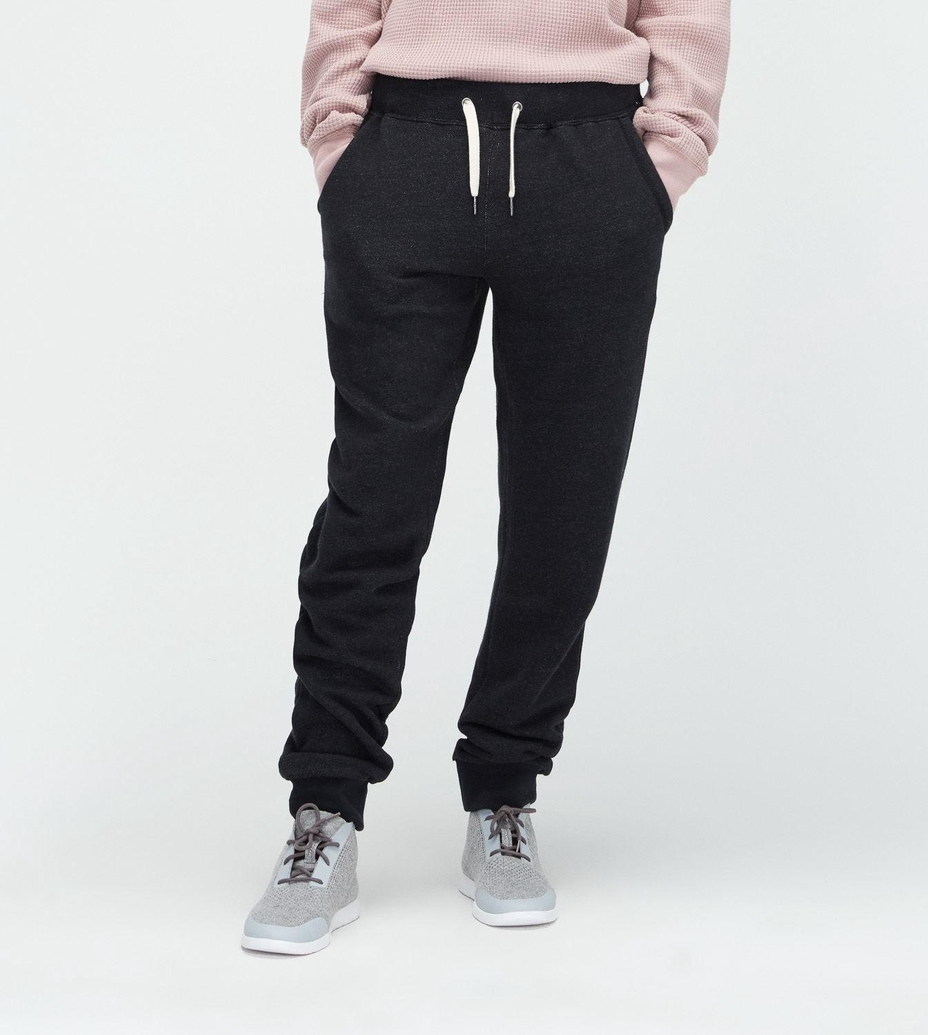 Ugg French Terry Jogger Pants In Black