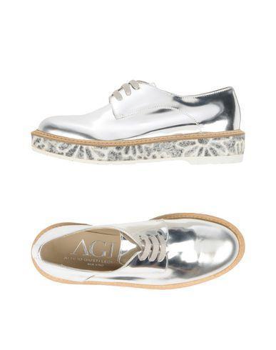 Agl Attilio Giusti Leombruni Lace-up Shoes In Silver