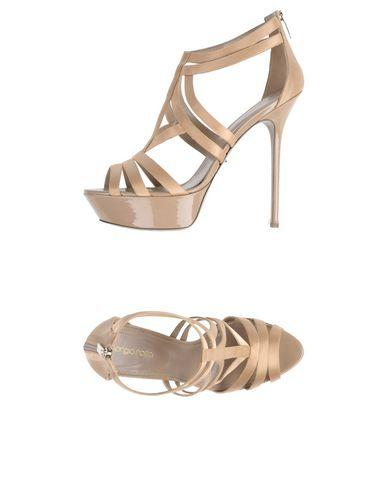 Sergio Rossi Sandals In Dove Grey