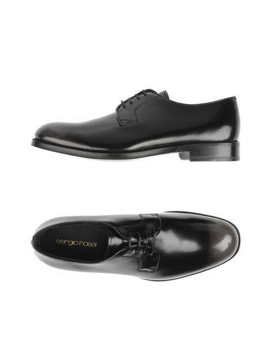 Sergio Rossi Lace-up Shoes In Black