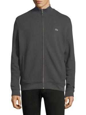 Lacoste Minimalistic Track Jacket In Vendan