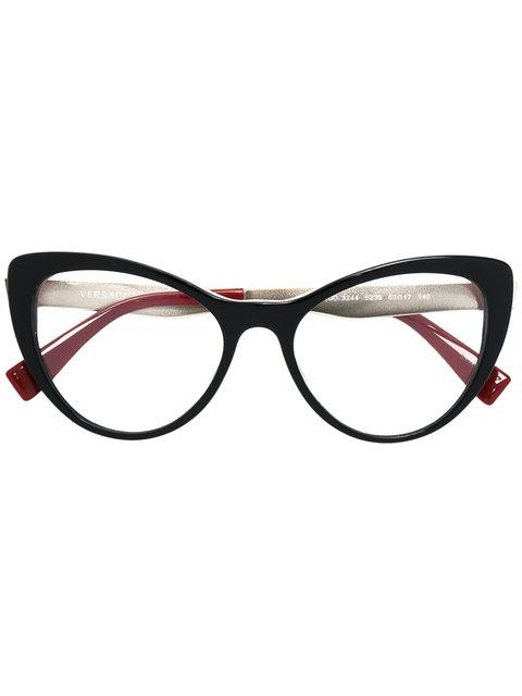Versace Classic Cat Eye Glasses
