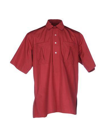 E. Tautz Einfarbiges Hemd In Brick Red