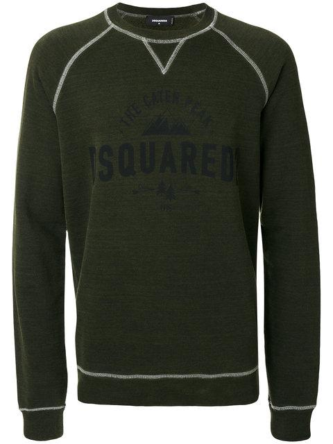 Dsquared2 Caten Peak Logo Print Sweatshirt