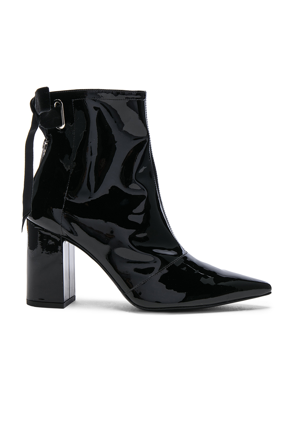 1a2f01de2fb X Clergerie Karli Patent Leather Ankle Boots in Black