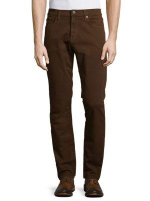 J Brand Tyler Stretch Twill Slim-fit Jeans In Tunnel