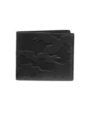 Michael Kors Bi-fold Leather Wallet In Black