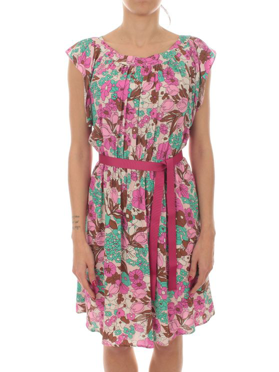 Iblues Women's 722123120004 Pink Viscose Dress