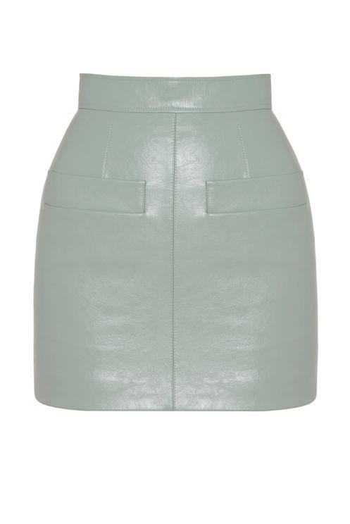 Aleksandre Akhalkatsishvili Light Blue Skirt